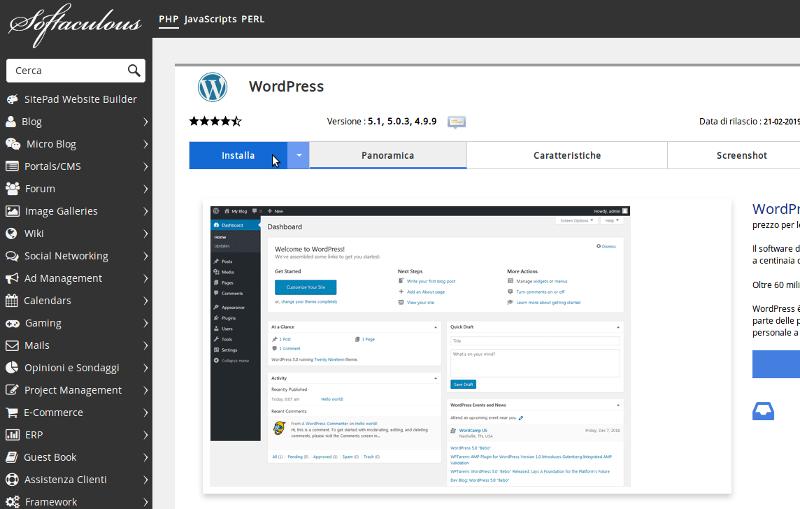 guida alla scelta dell'hosting con wordpress passo 3
